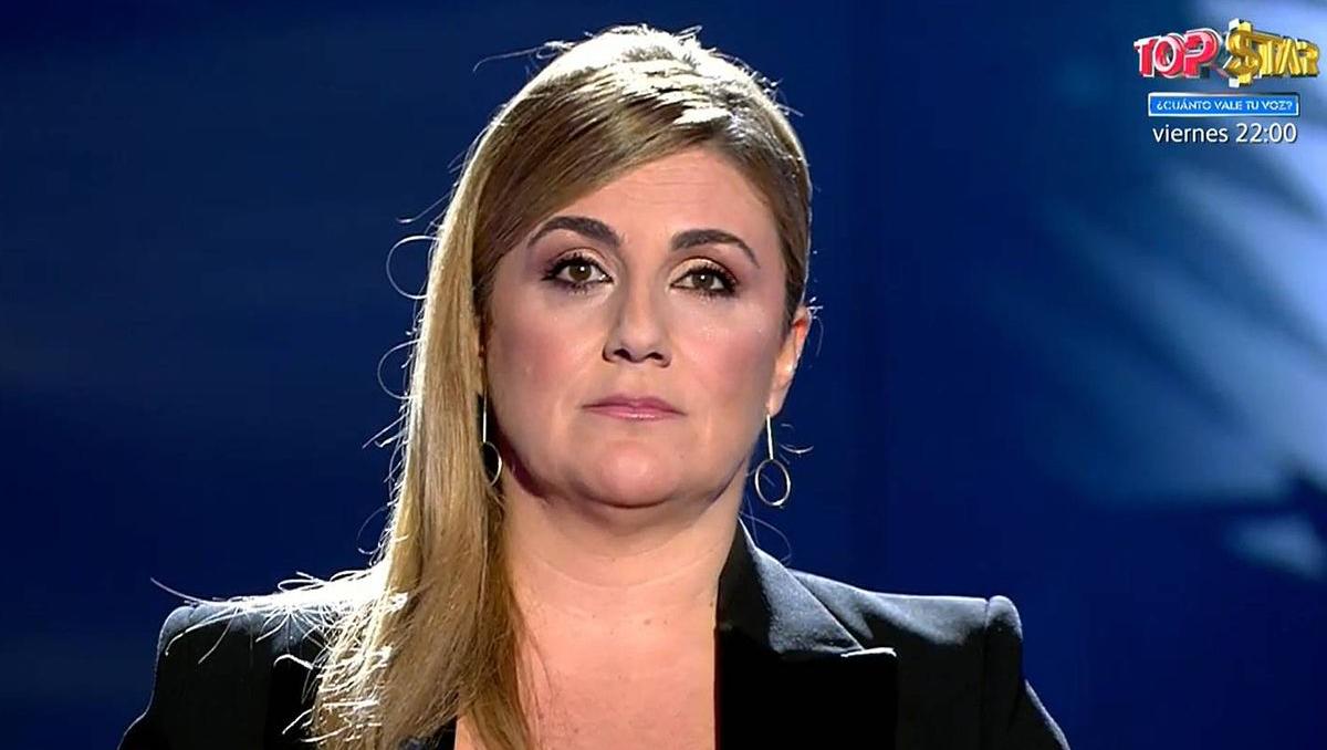 Carlota Corredera, en un dels programes de Rocío Carrasco - Telecinco