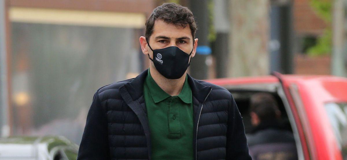 Iker Casillas, captat pels fotògrafs - Europa Press