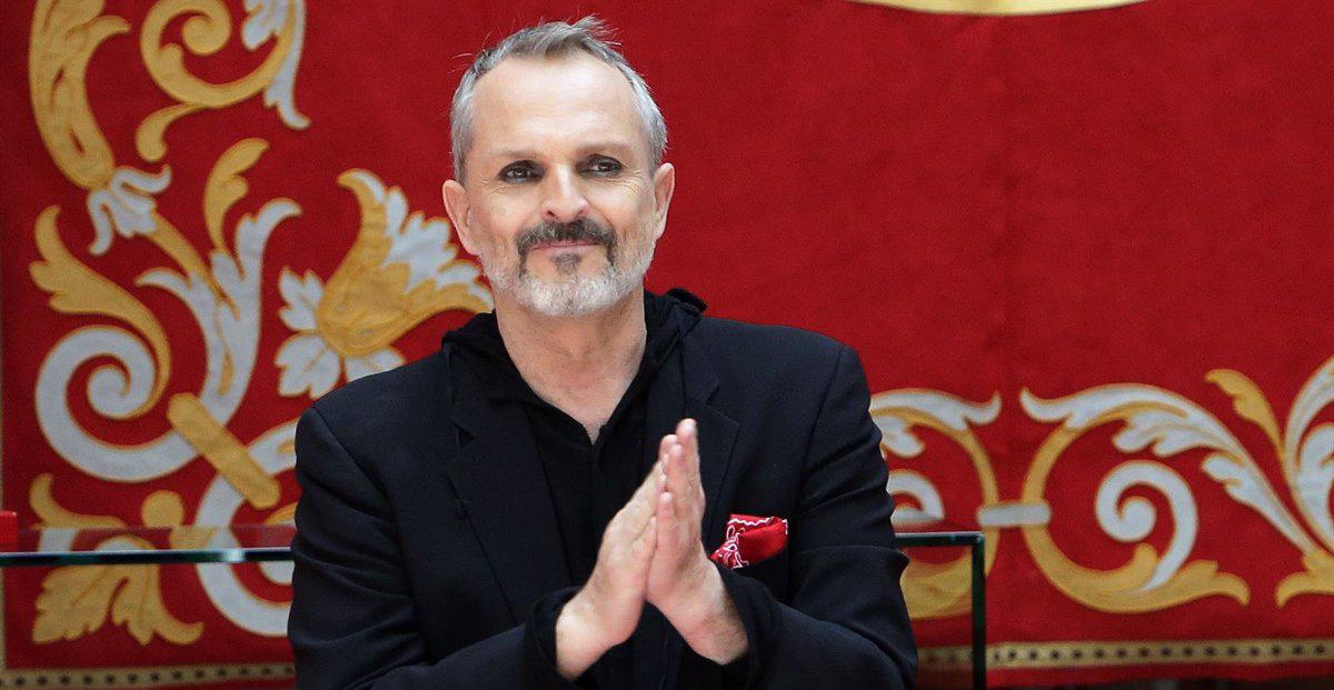 Miguel Bosé, en una foto d'arxiu - Europa Press