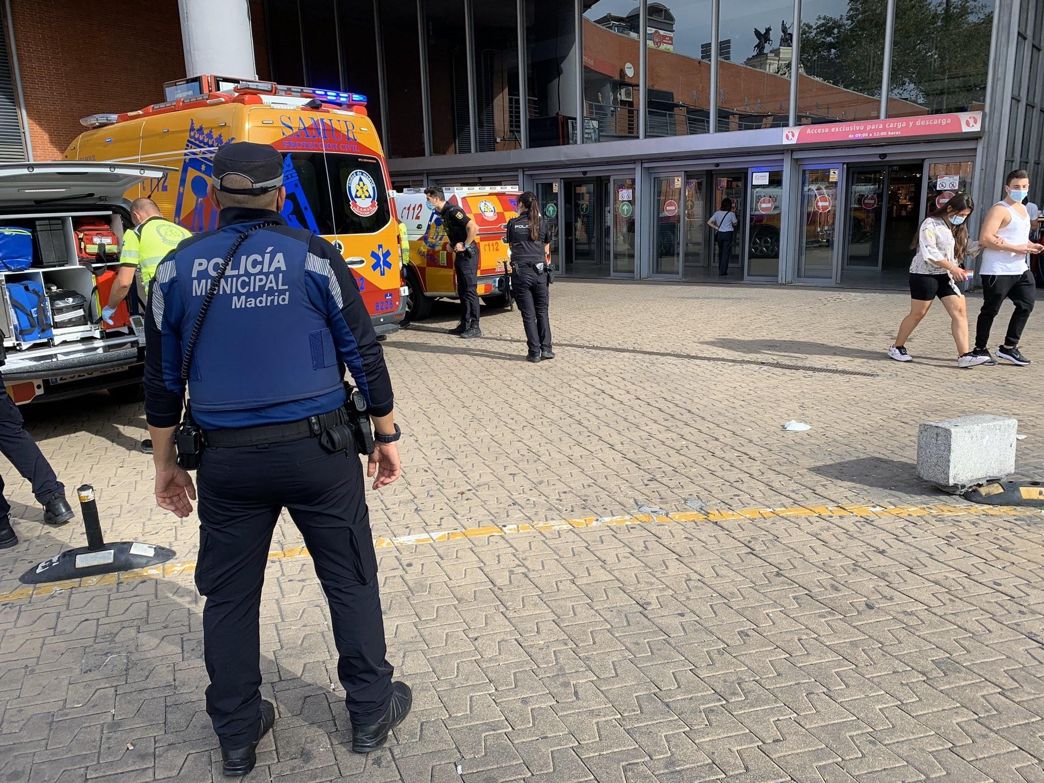 Equips d'emergència a Atocha / EP