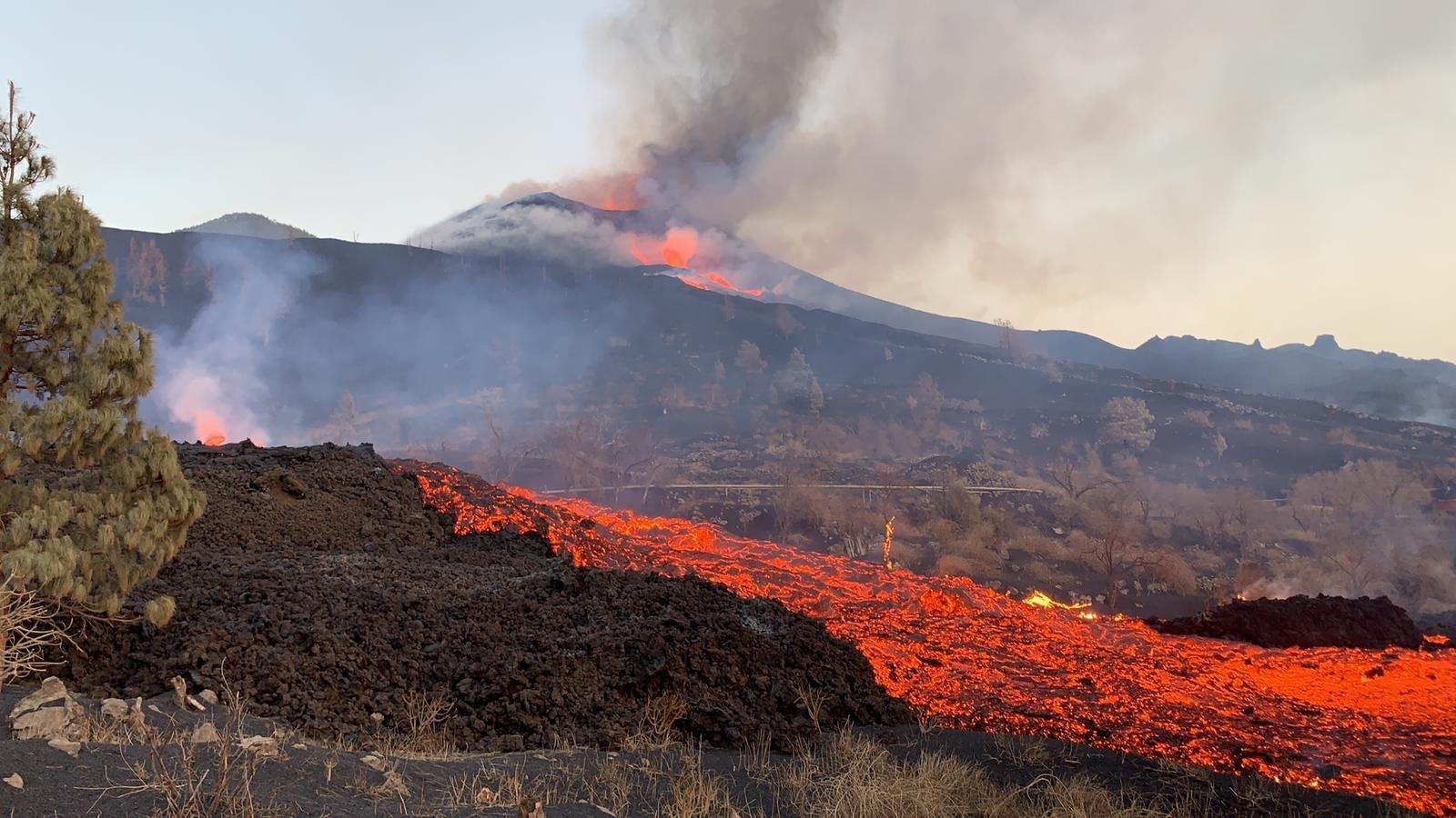 La lava del volcà de La Palma   Europa Press