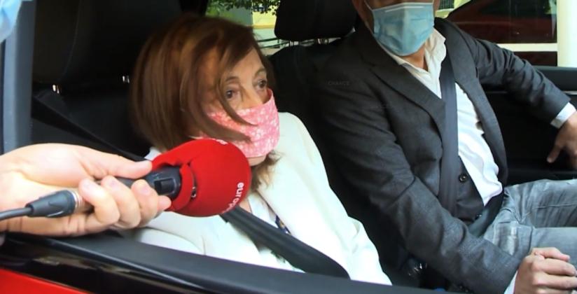 María Teresa Campos, molt desmillorada -- Europa Press