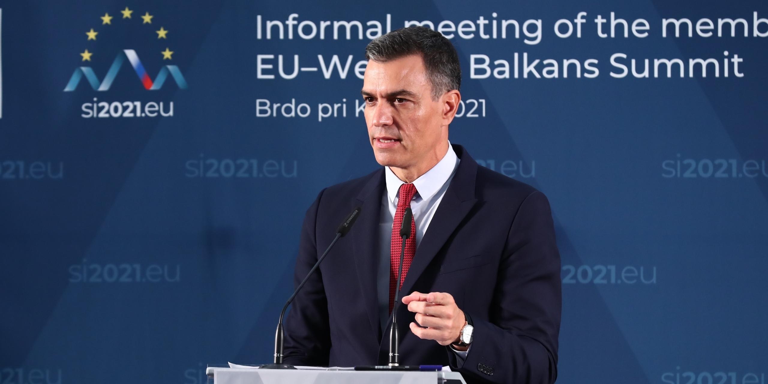 Pedro Sánchez a la cimera entre la UE i el Balcans | Europa Press