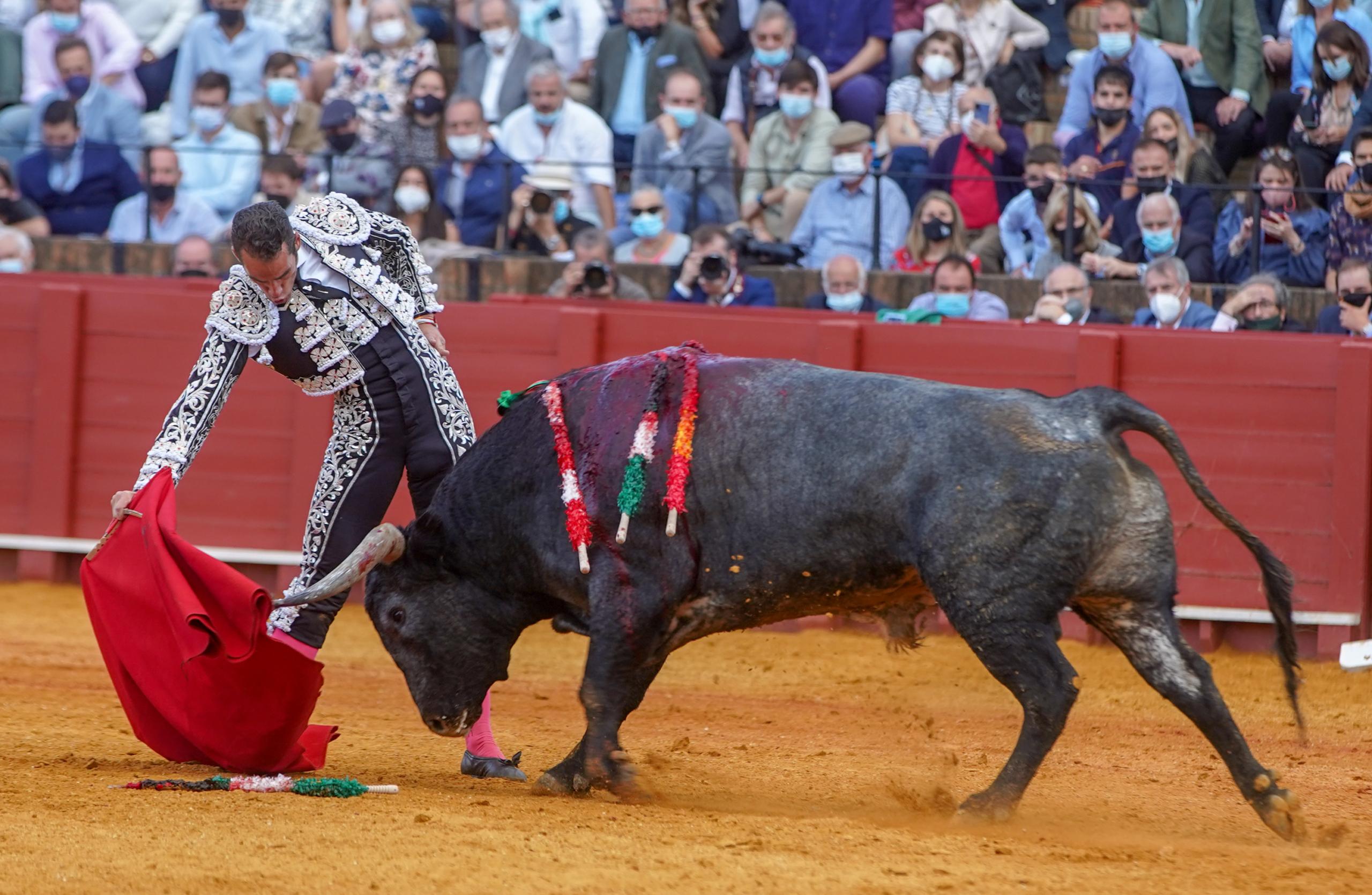 Imatge d'arxiu de toros a Sevilla   Europa Press