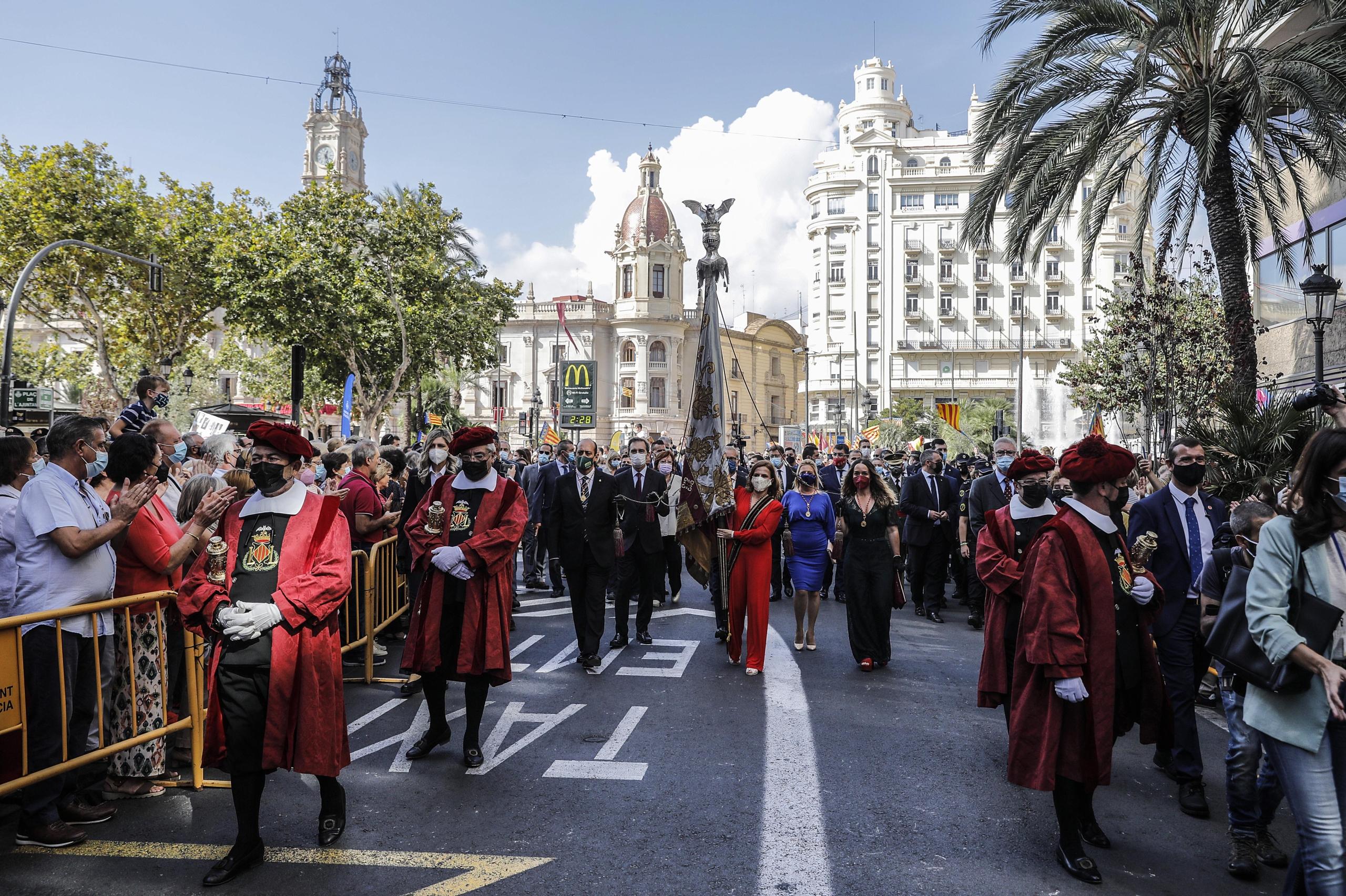 Processó Cívica de València   Europa Press