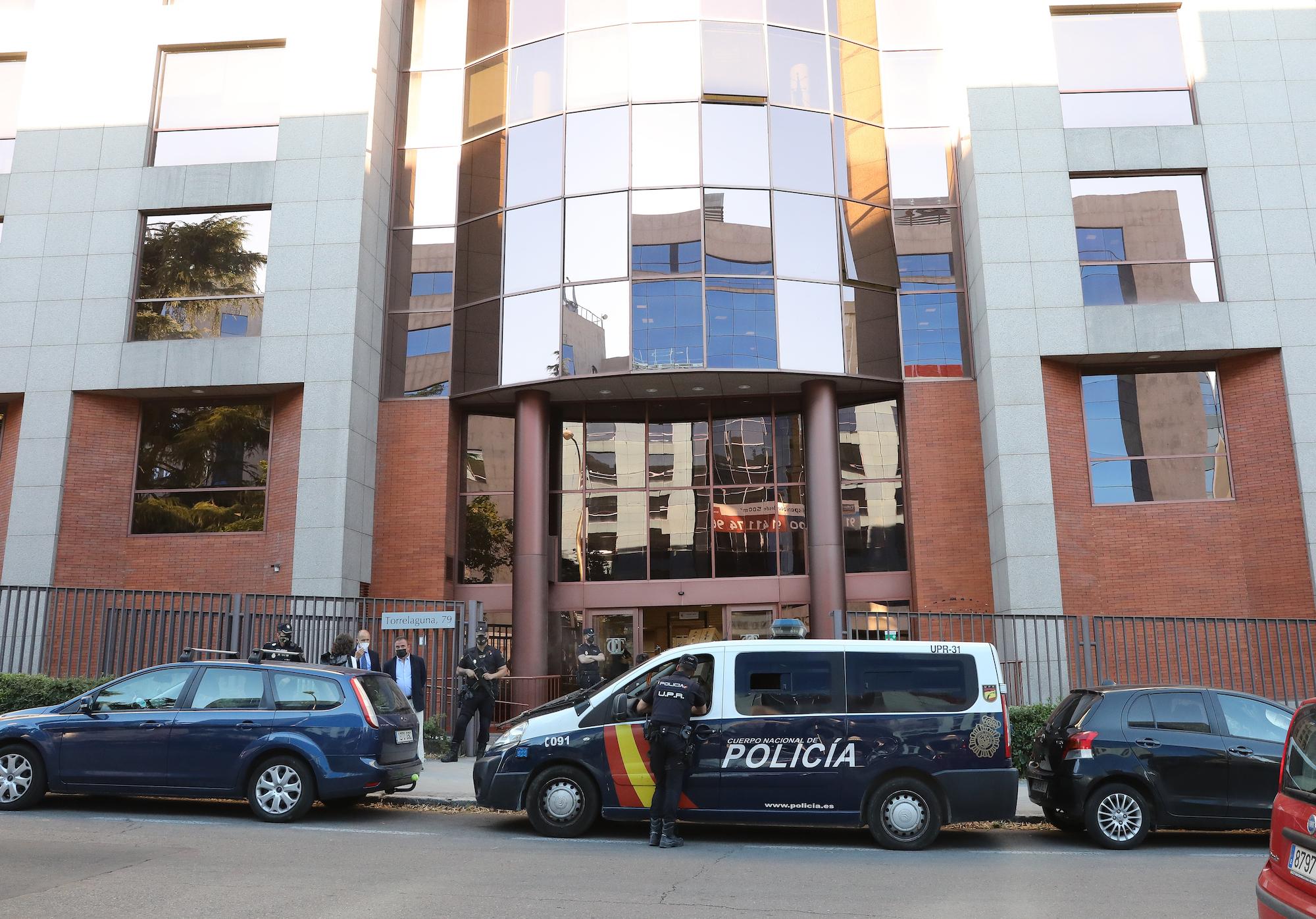 Façana de l'edifici del Tribunal de Comptes   Europa Press