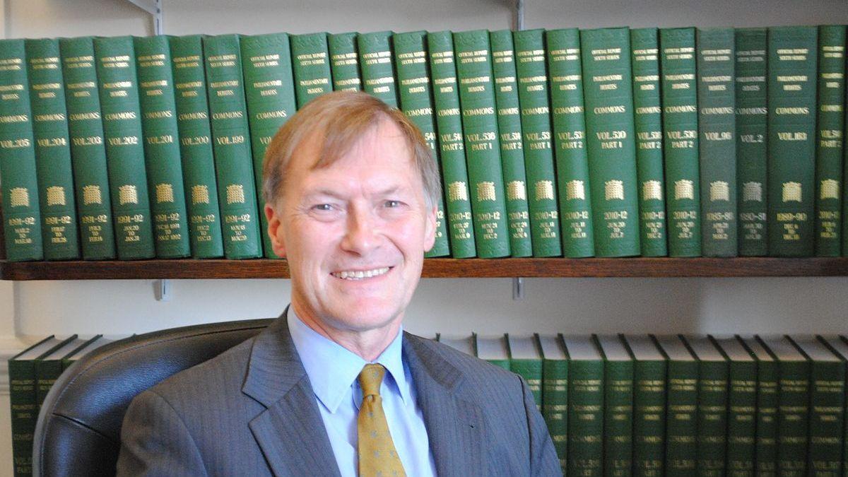 El diputat britànic David Amess / EP