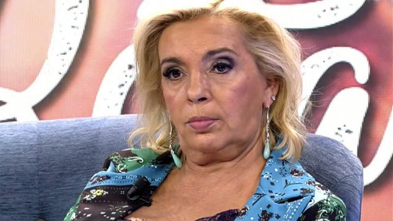 Carmen Borrego, farta de la polèmica familiar - Telecinco