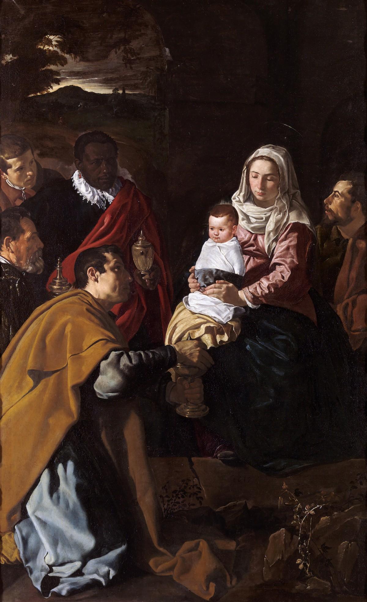 Adoración de los Reyes, Velázquez