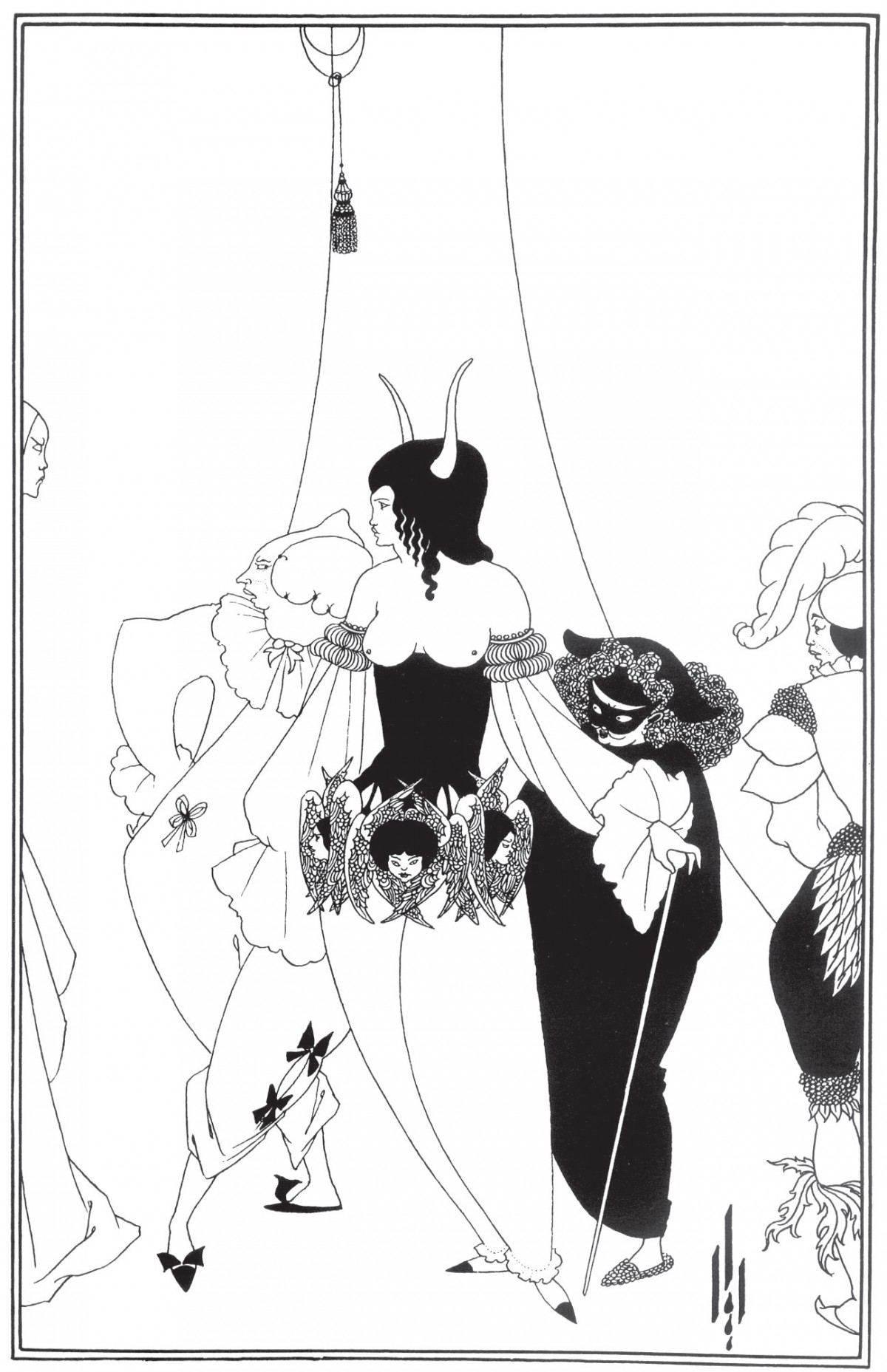 Il·lustració d'Aubrey Beardsley