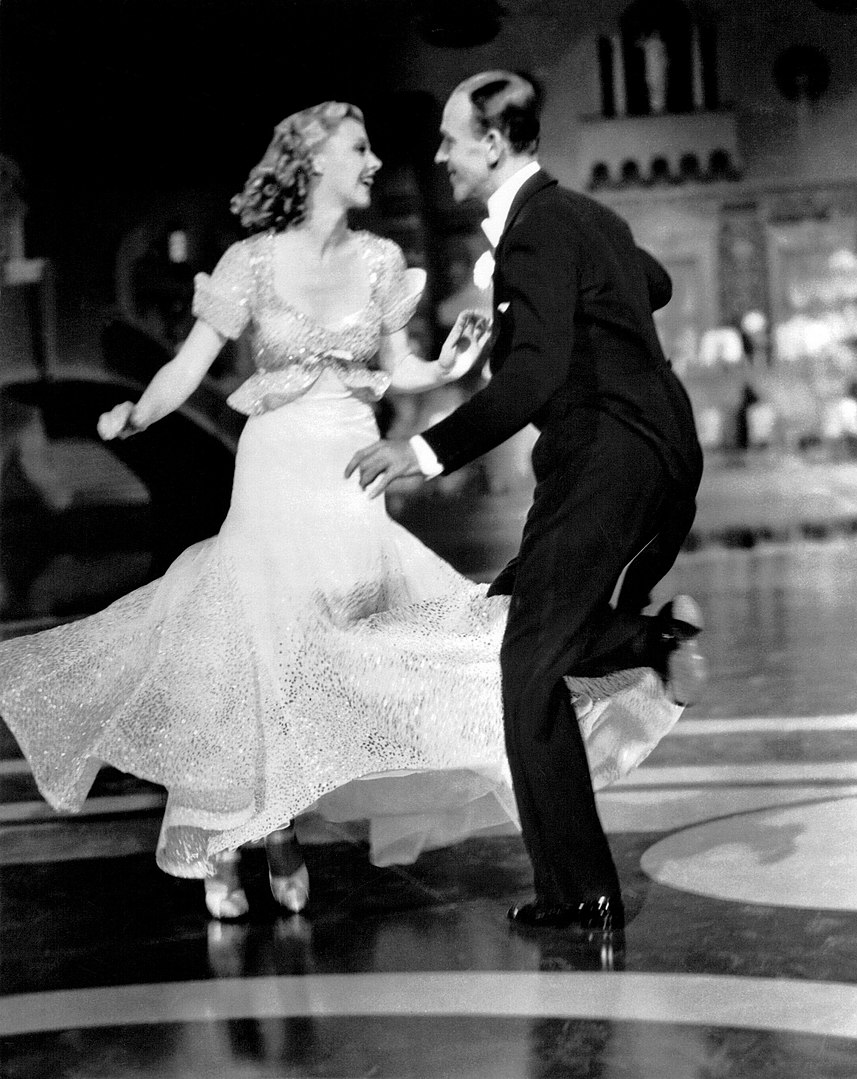 Ginger Rogers i Fred Astaire a