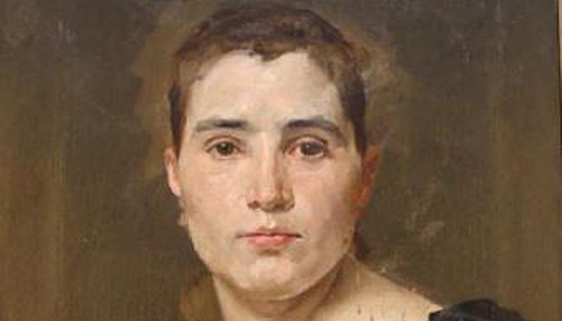 Retrat de la senyoreta Dulce, d'Antoni Caba,