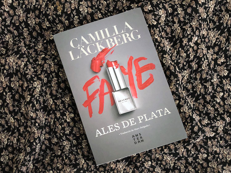 Coberta d'Ales de plata, de Camilla Läckberg. Foto: Catorze
