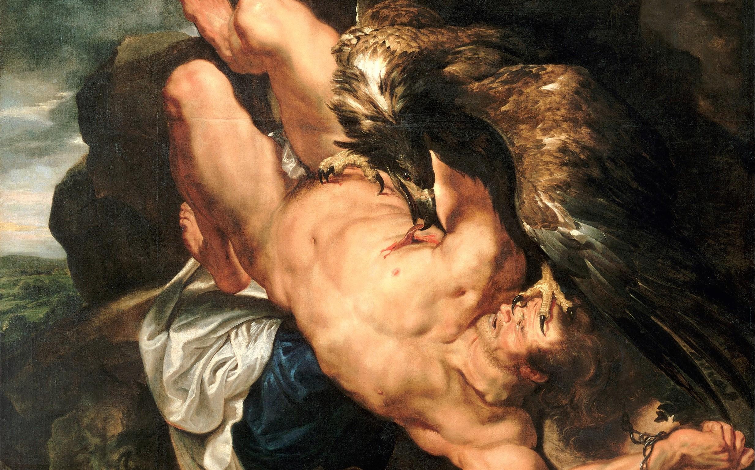 Prometeu encadenat (1618), de Rubens (detall). Foto: Domini públic