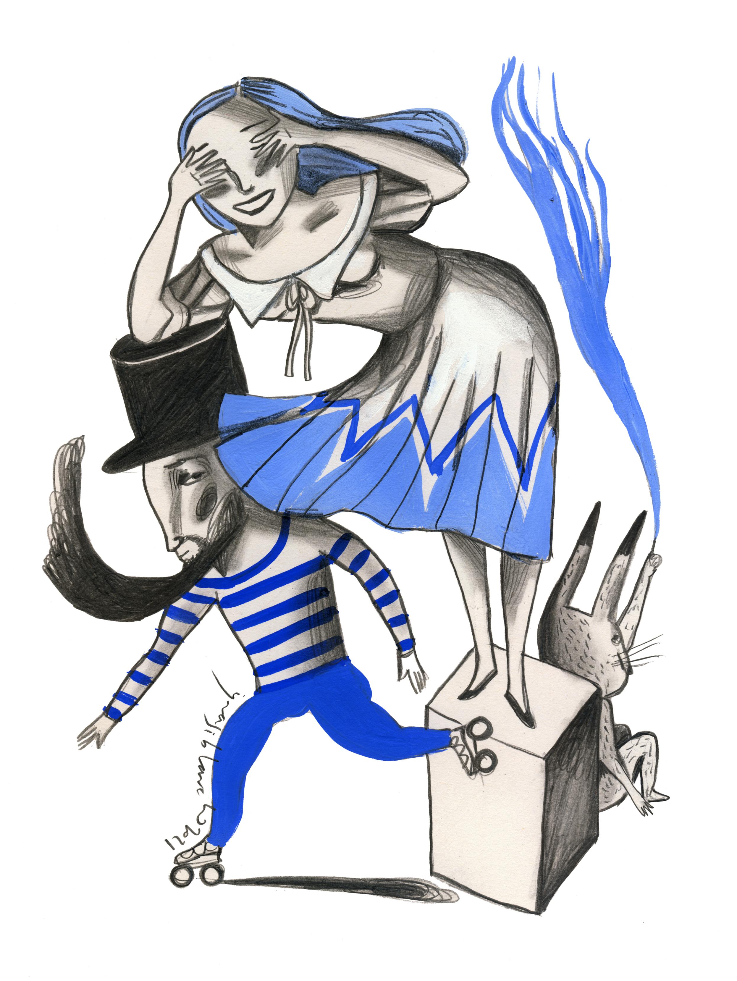 Il·lustració: Ignasi Blanch