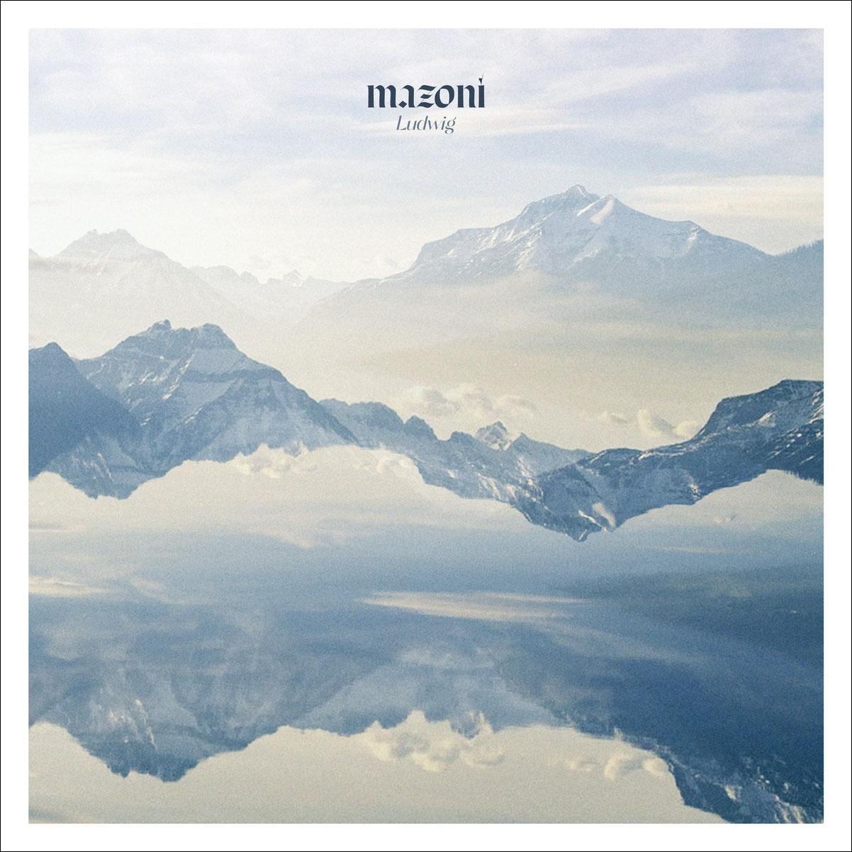 Portada de Ludwig, el nou disc de Mazoni.
