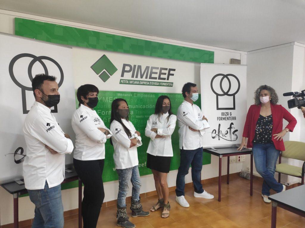 Presentació de l'Associació de Xefs d'Eivissa i Formentera   PIMEEF