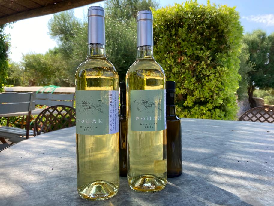 Pouch, el nou vi blanc de Menorca de Miguel Olazábal   D.B