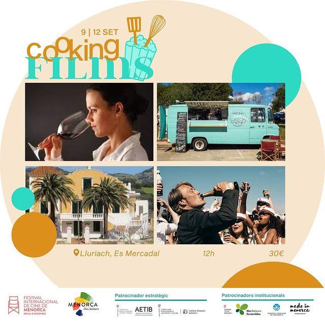 Cinema i vins a Menorca amb Sara Sanchis