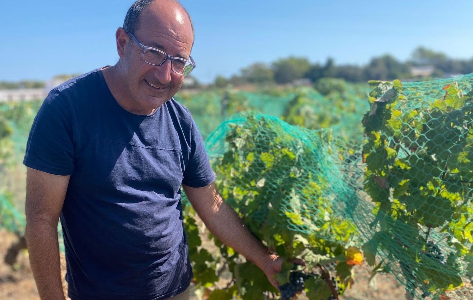 Robert Ribas, responsable del celler Cap de Barbaria, a Formentera | Z.T.