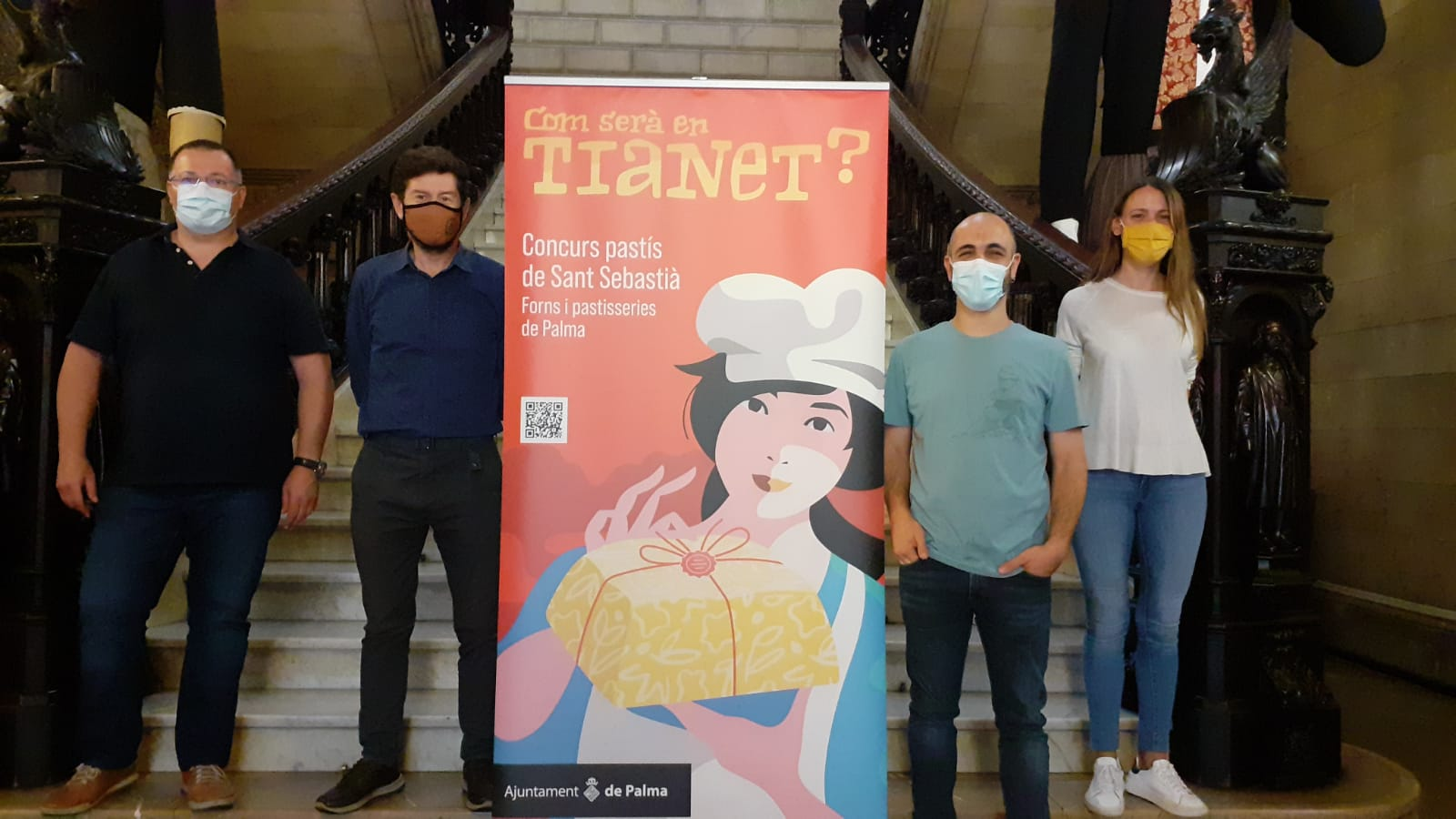 El concurs pretén trobar un producte típic per celebrar la festivitat del  patró de Palma