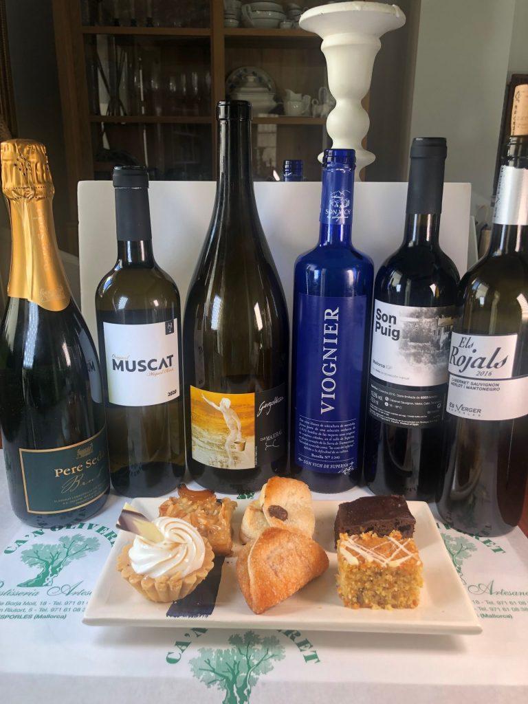 Es tractava d'adequar els vins als productes de pastisseria dolça de Can Oliveret/DO Pla i Llevant