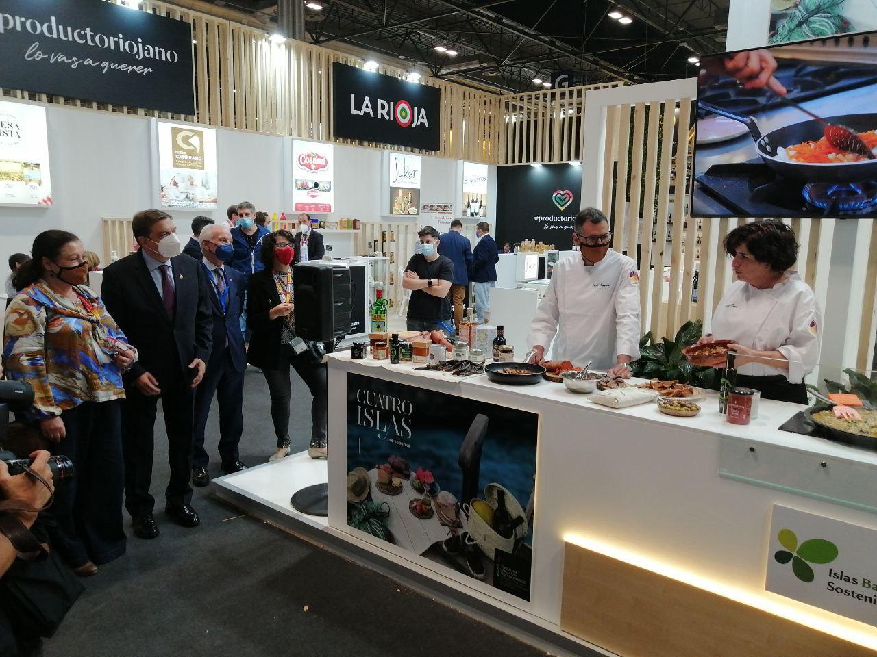 Balears ha portat producte local al Saló de 'Gourmets' de Madrid |CAIB