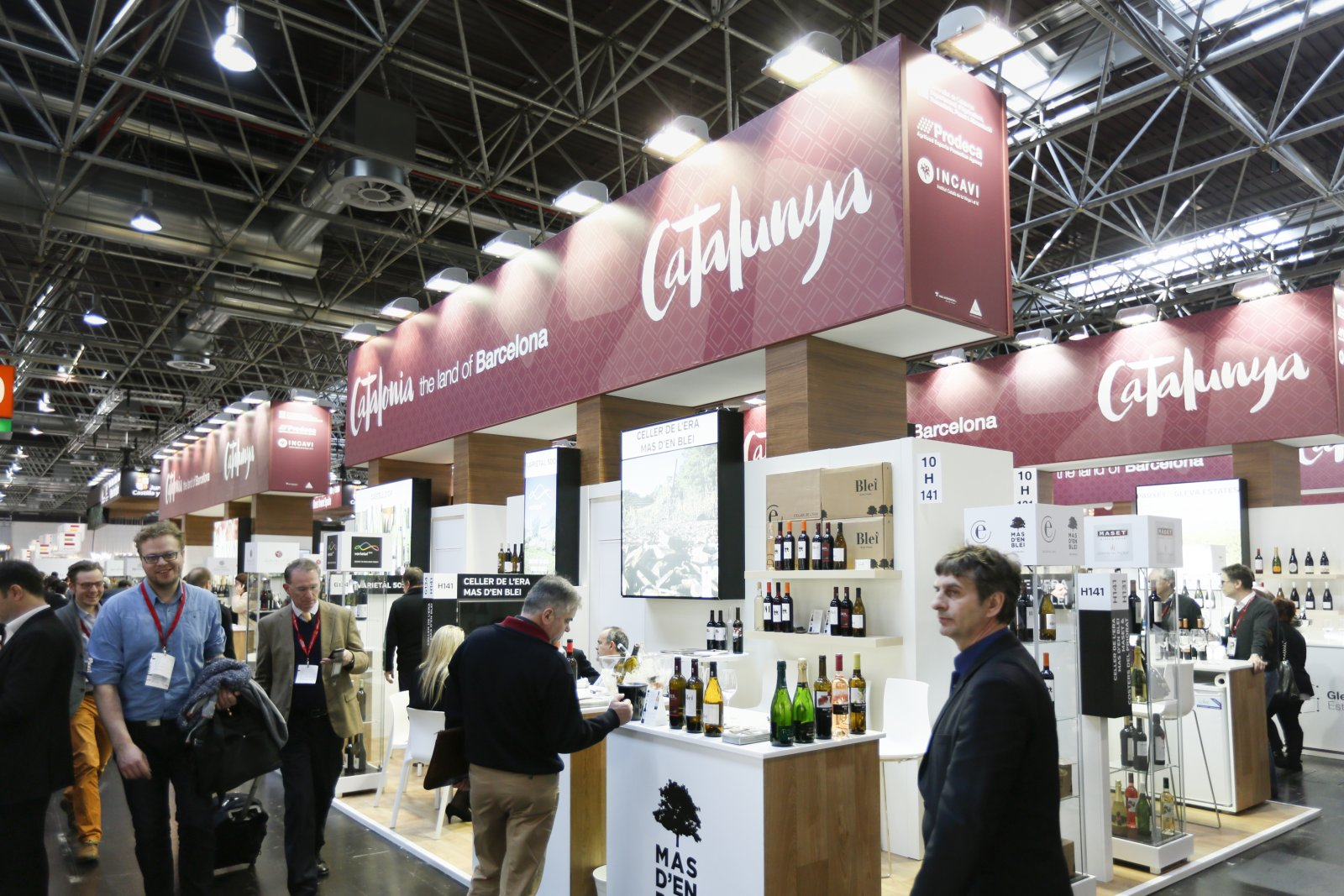 Cellers catalans a Prowein 2017