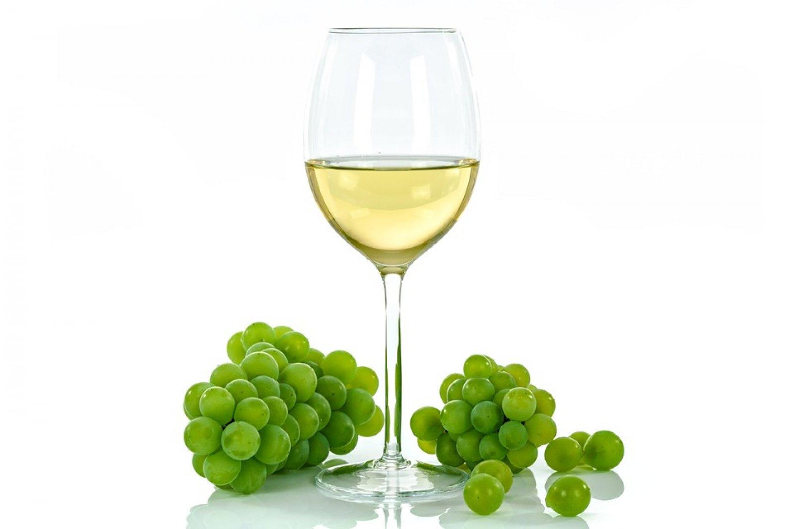 Copa de vi blanc