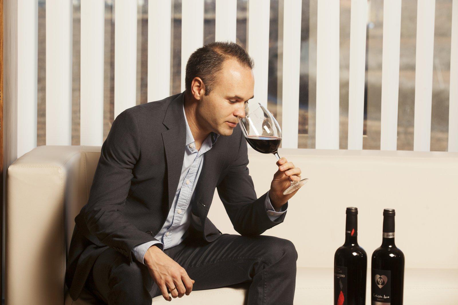 Andrés iniesta també fa vi