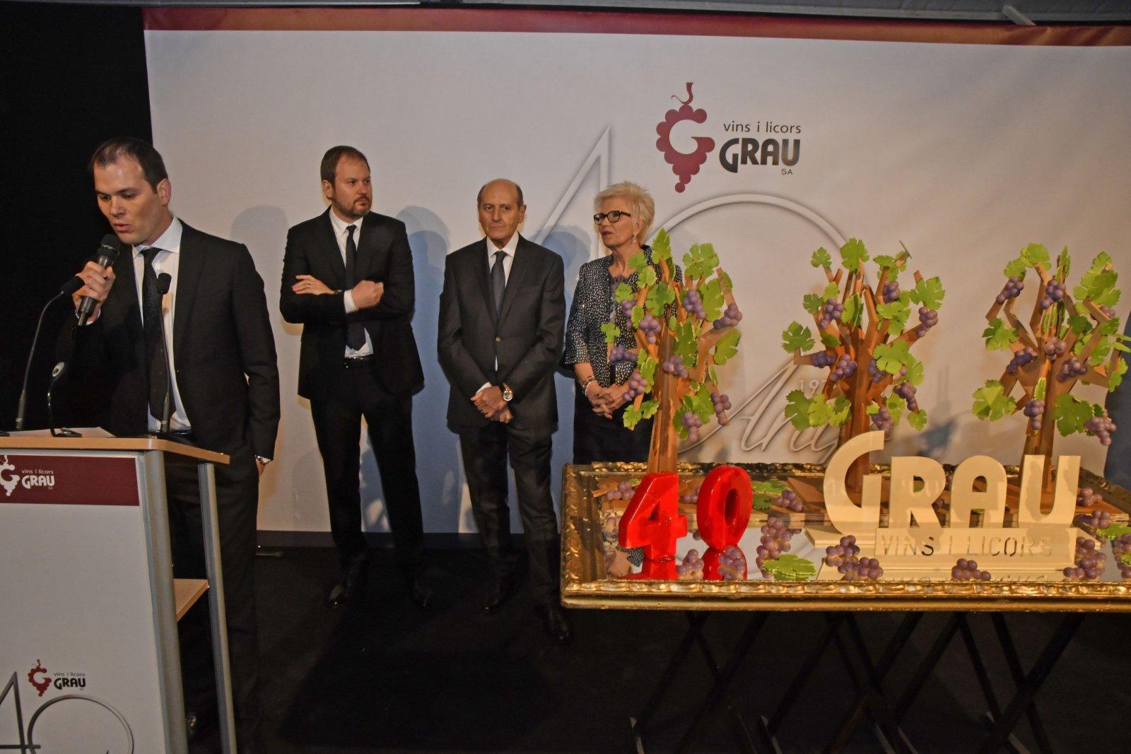 Vins i Licors Grau celebra 40 anys