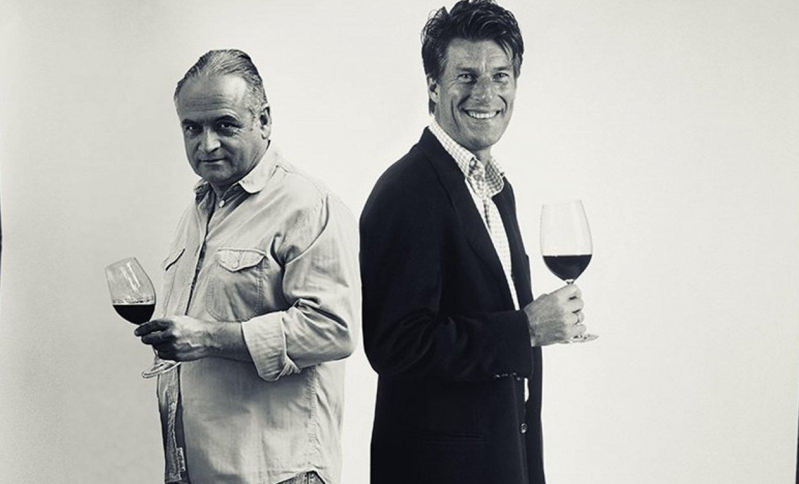 Josep maria Albet i Noya i Michael Laudrup