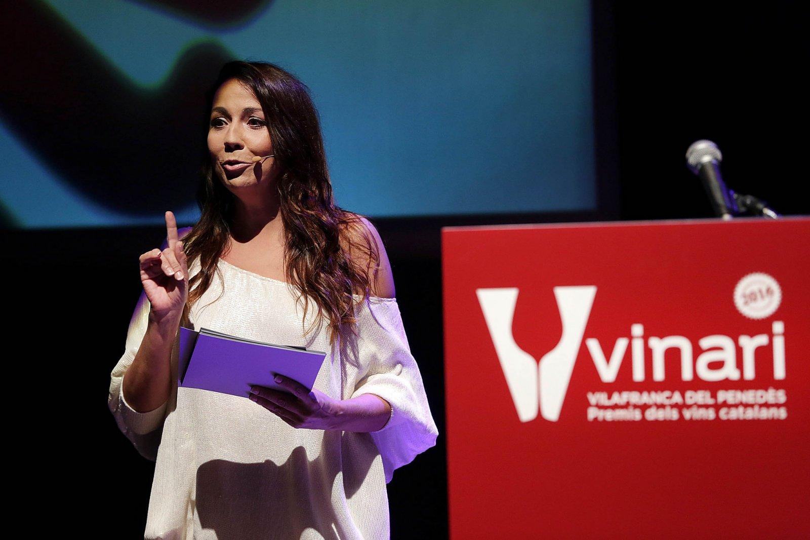 Txe Arana, durant la presentació dels Premis Vinari 2016