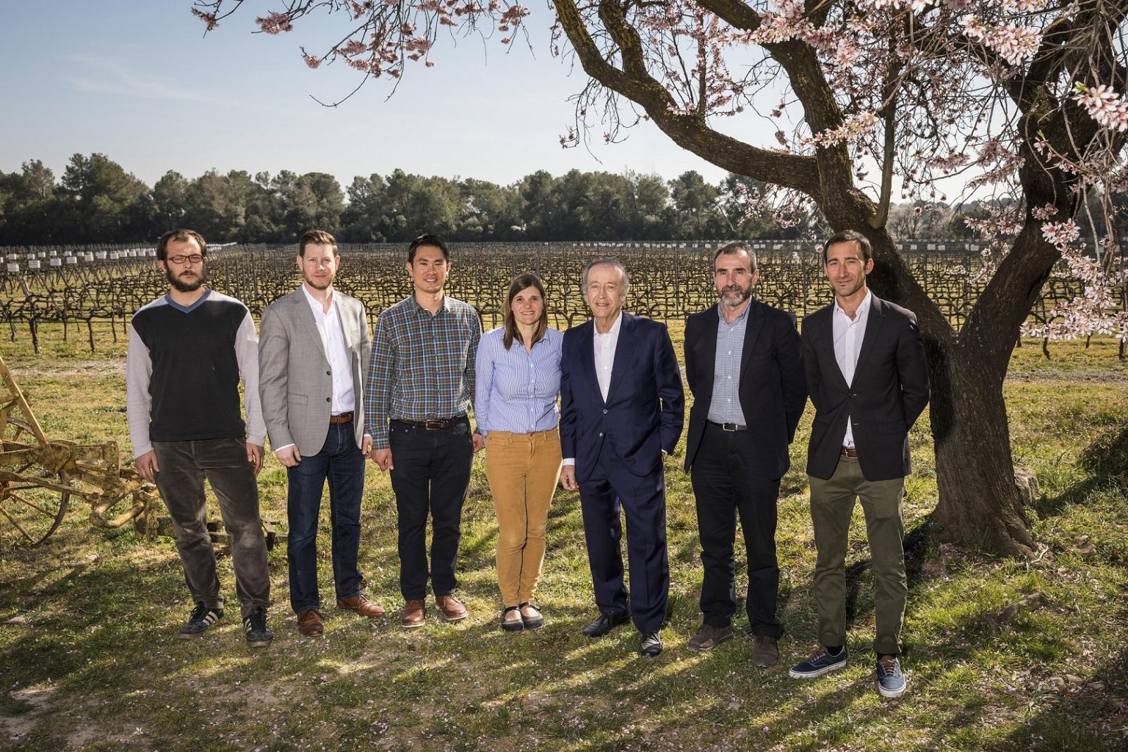 Representants de Jackson Family Wines i Família Torres reunits a Pacs del Penedès