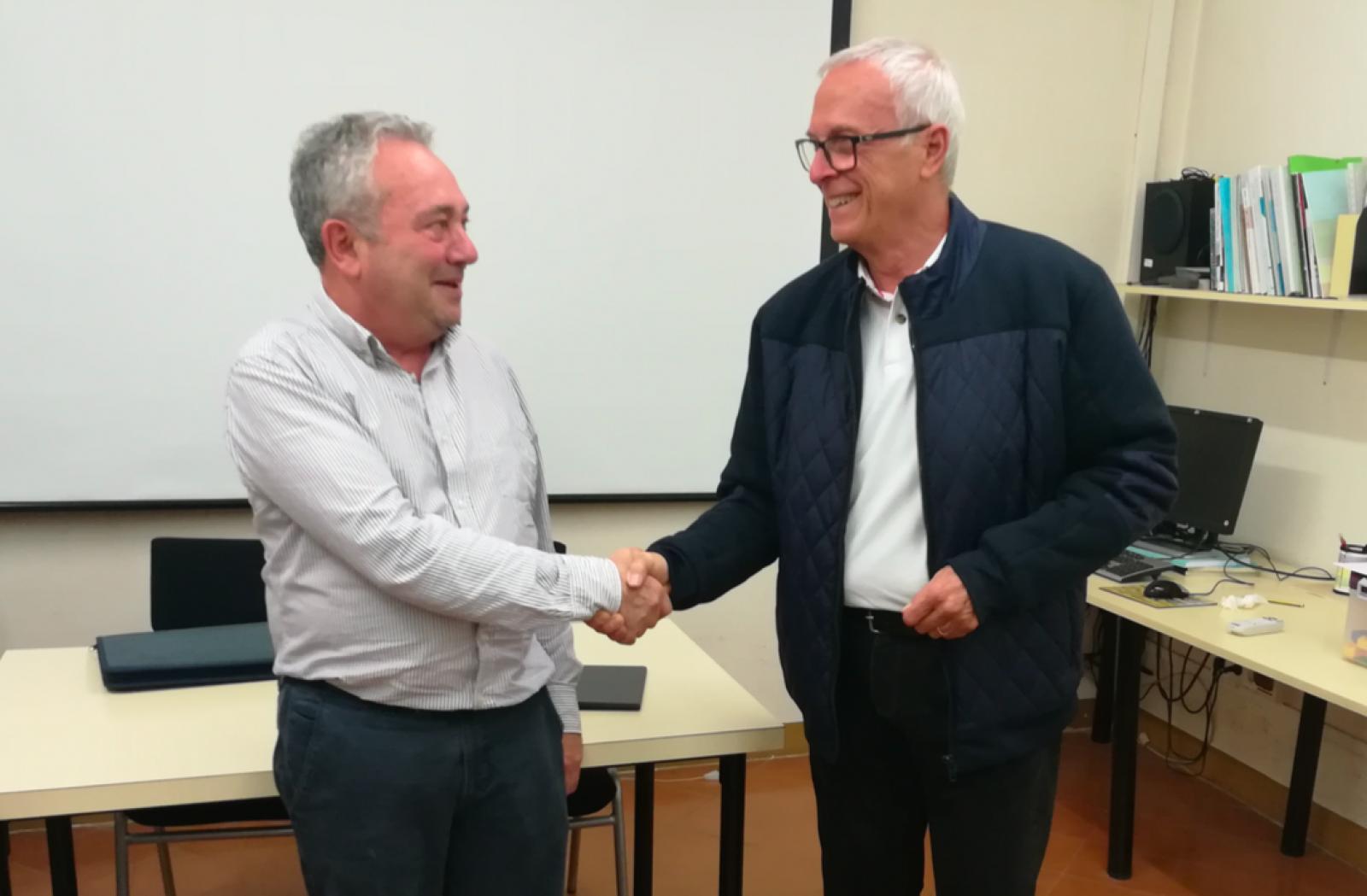 Joan francesc Baltiérrez és el nou president de la Confraria de vins del Bages