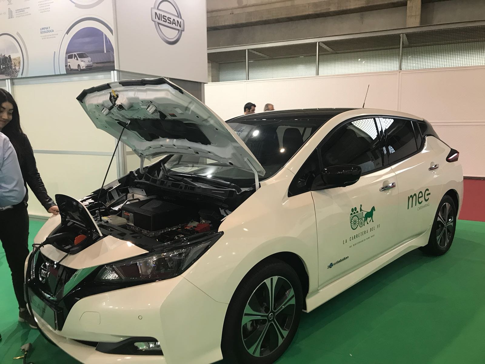 Nissan electric Alimentaria