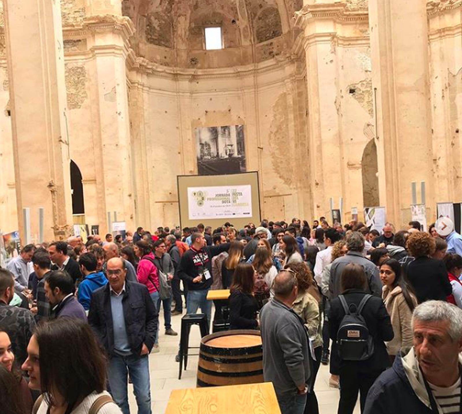 La jornada professionals de vins de la DO Terra Alta s'ha fet a Corbera d'Ebre