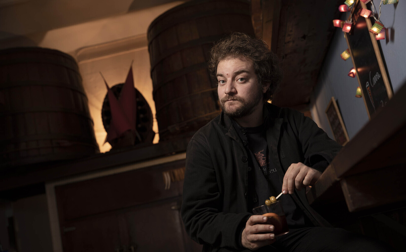 Pol López s'asseu amb el Tot Barcelona a fer un vermut Miró