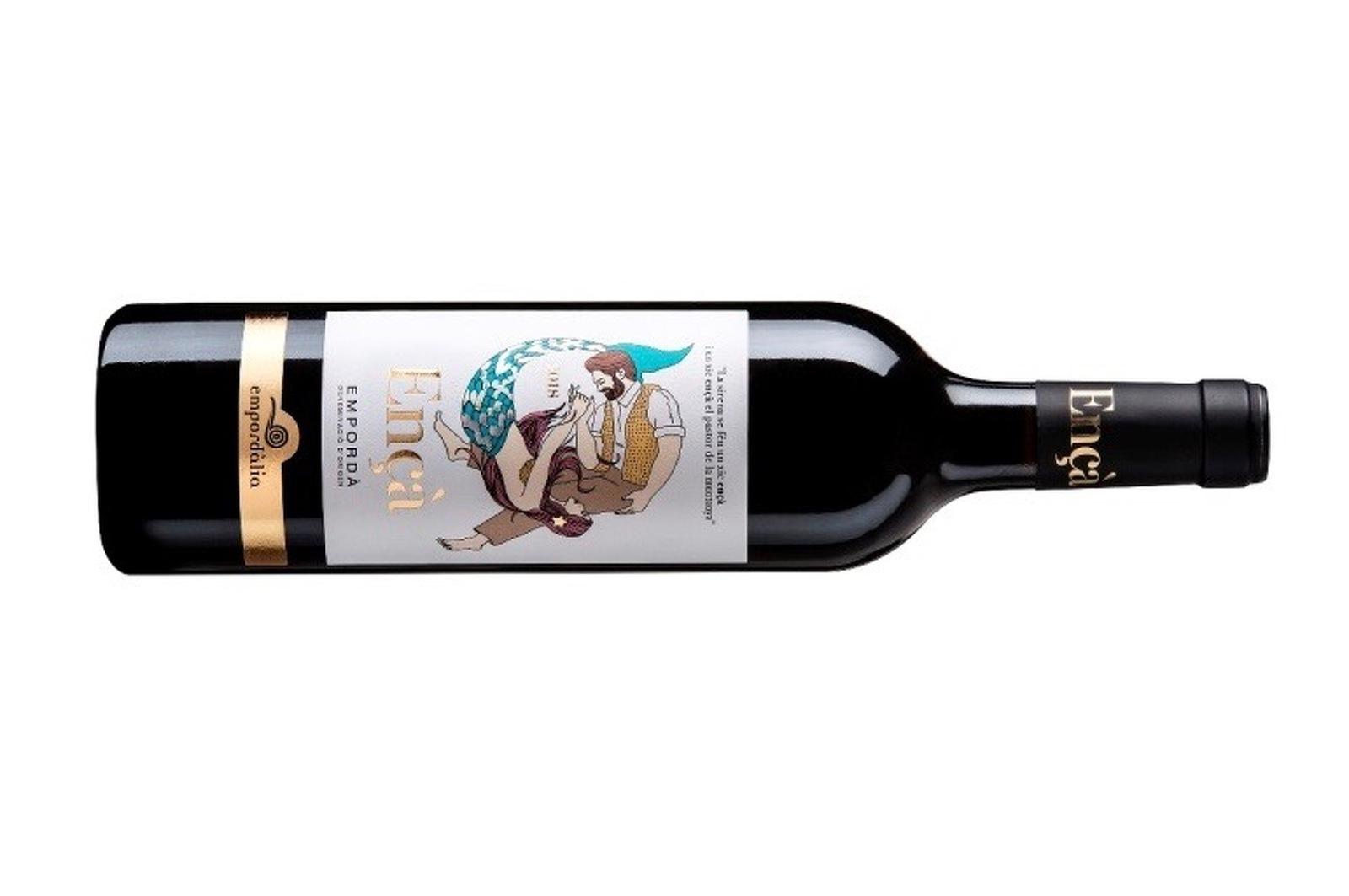 Ençà, el vi d'Empordàlia que vol ser un homenatge a Joan Maragall