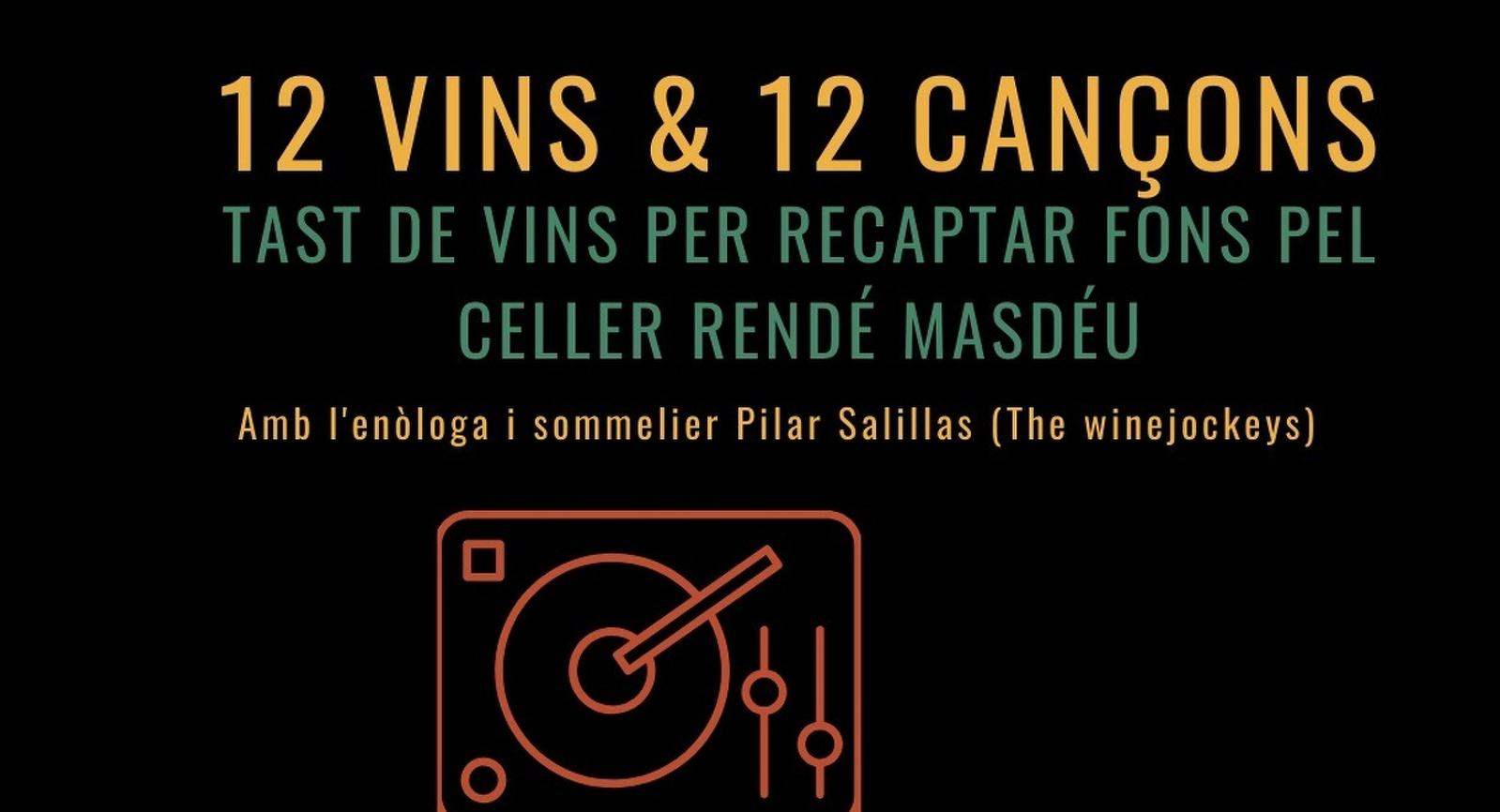 12 vins i 12 cançons en slidaritat amb el celler Rendé Masdéu