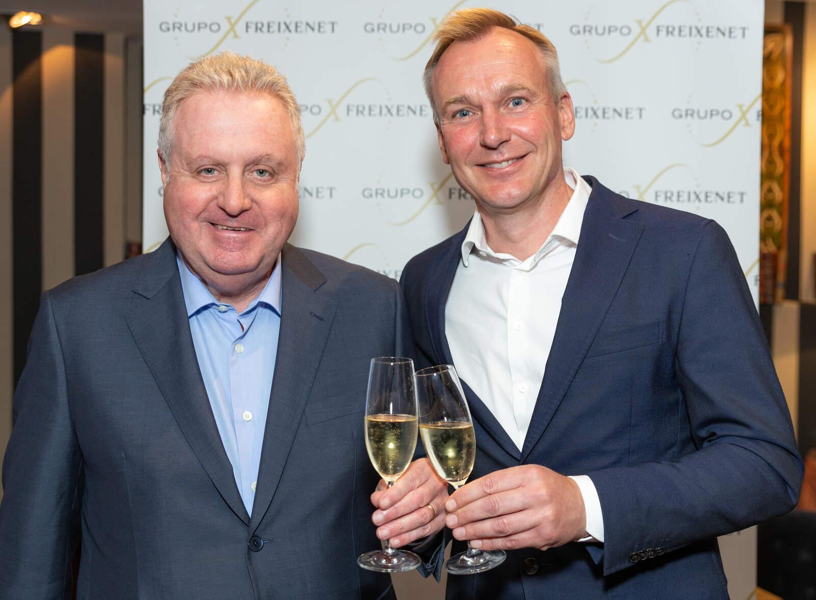 Pere Ferrer i Andreas Brokemper de Henkell Freixenet