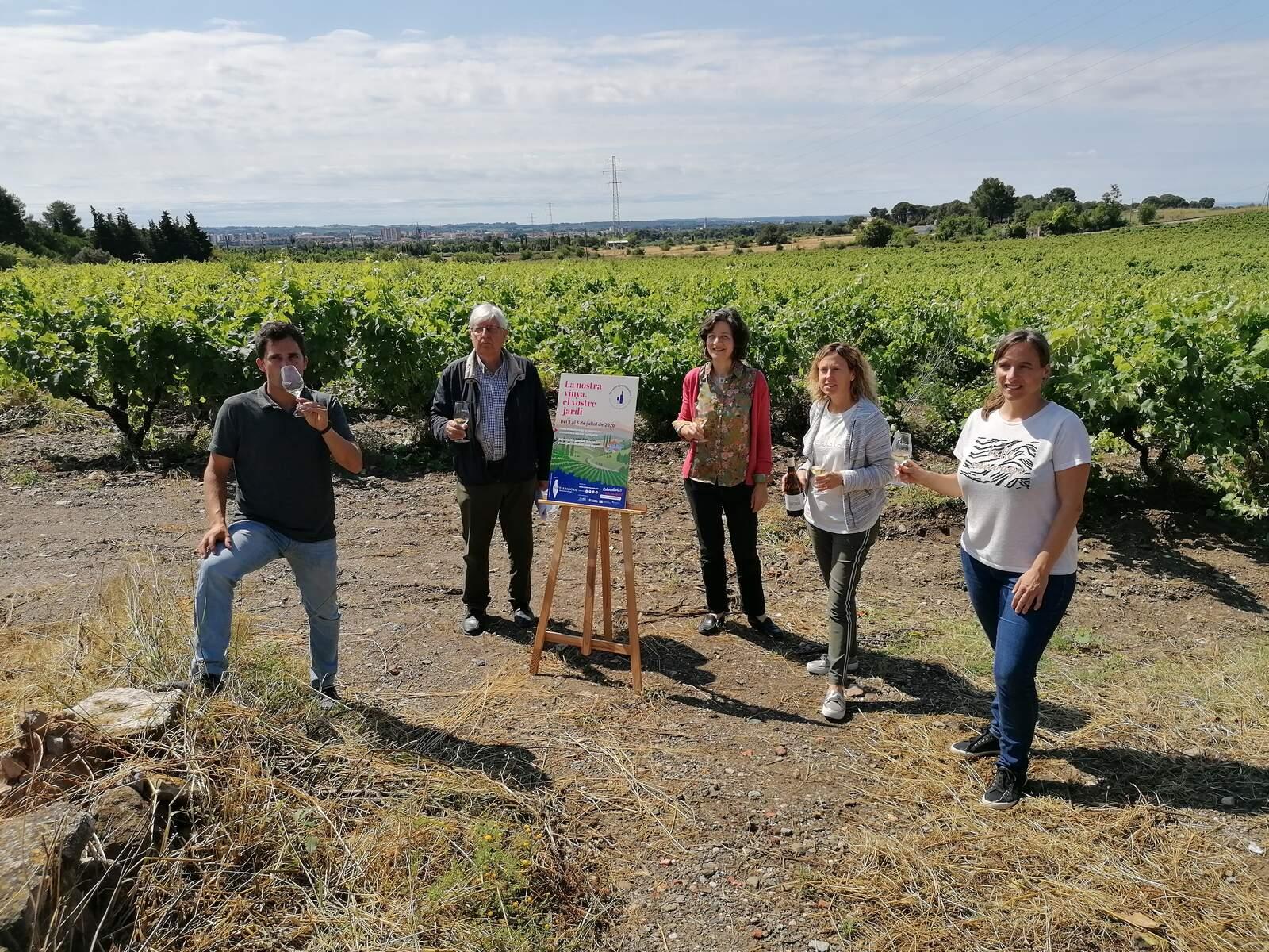 Un moment de la presentació de la nova proposta enoturística de la DO Tarragona