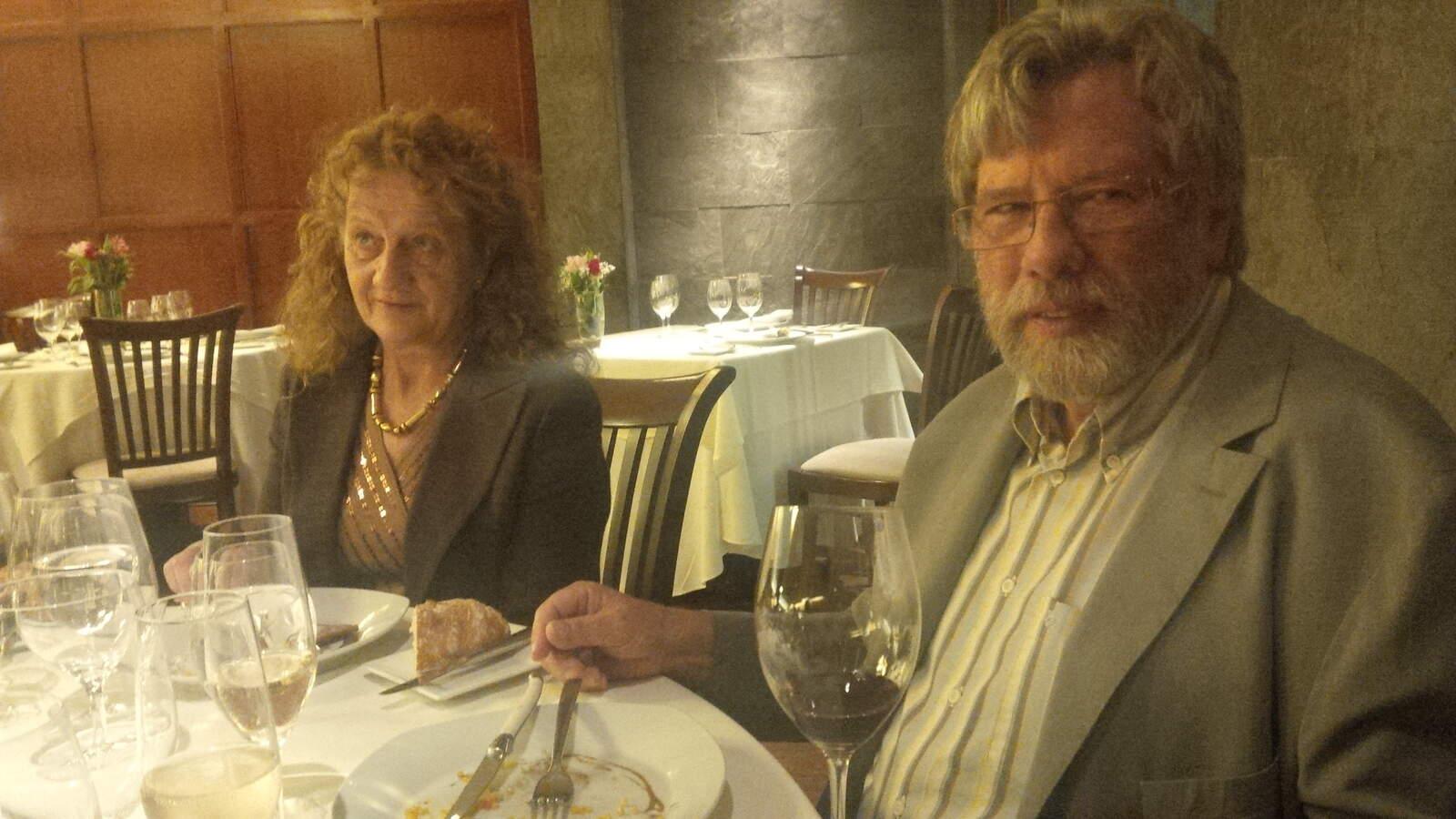 Isabelle Meyer i René Barbier en una visita a Puerto Rico