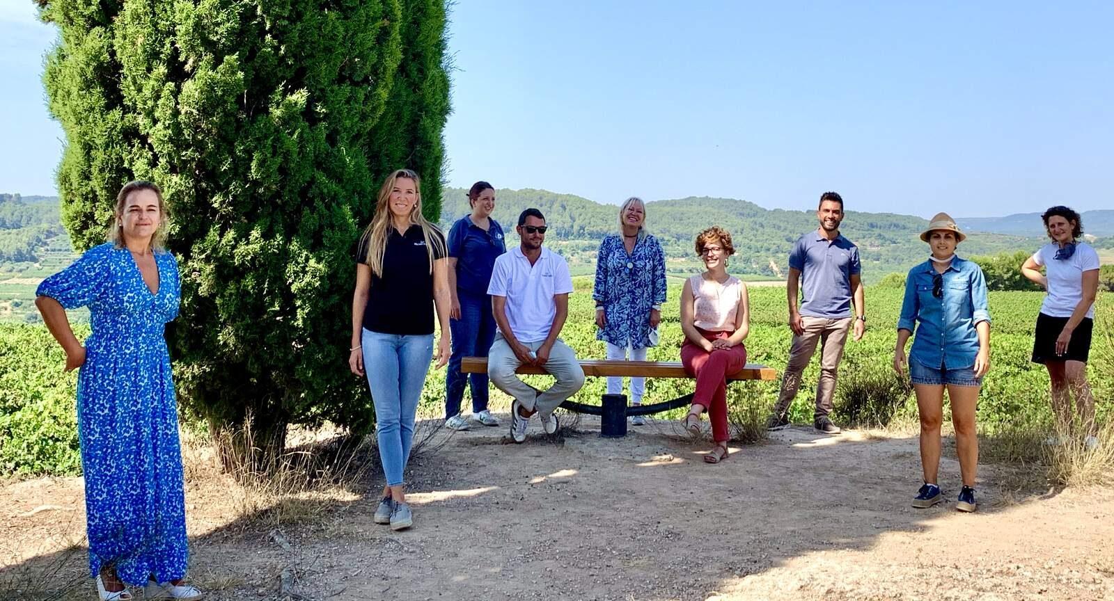Representants de 10 cellers de la Ruta del Vi del Penedès | Ruta del Vi Penedès