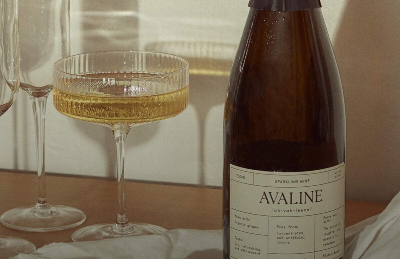 Avaline Sparkling, l'escumós de Cameron Díaz que elabora Raventós i Blanc