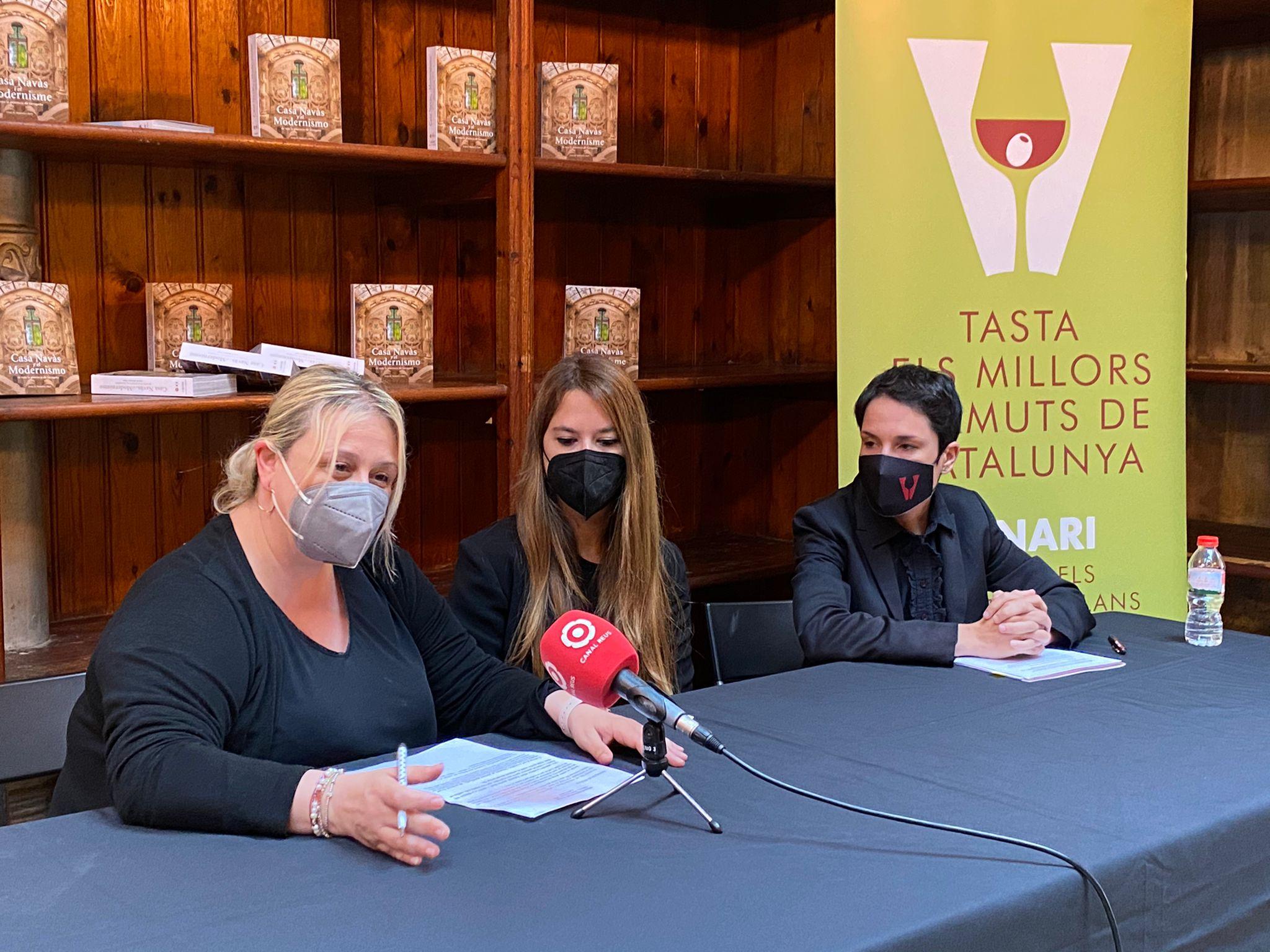 Roda de premsa de presentació dels Premis Vinari dels vermuts 2021 |Z.T.