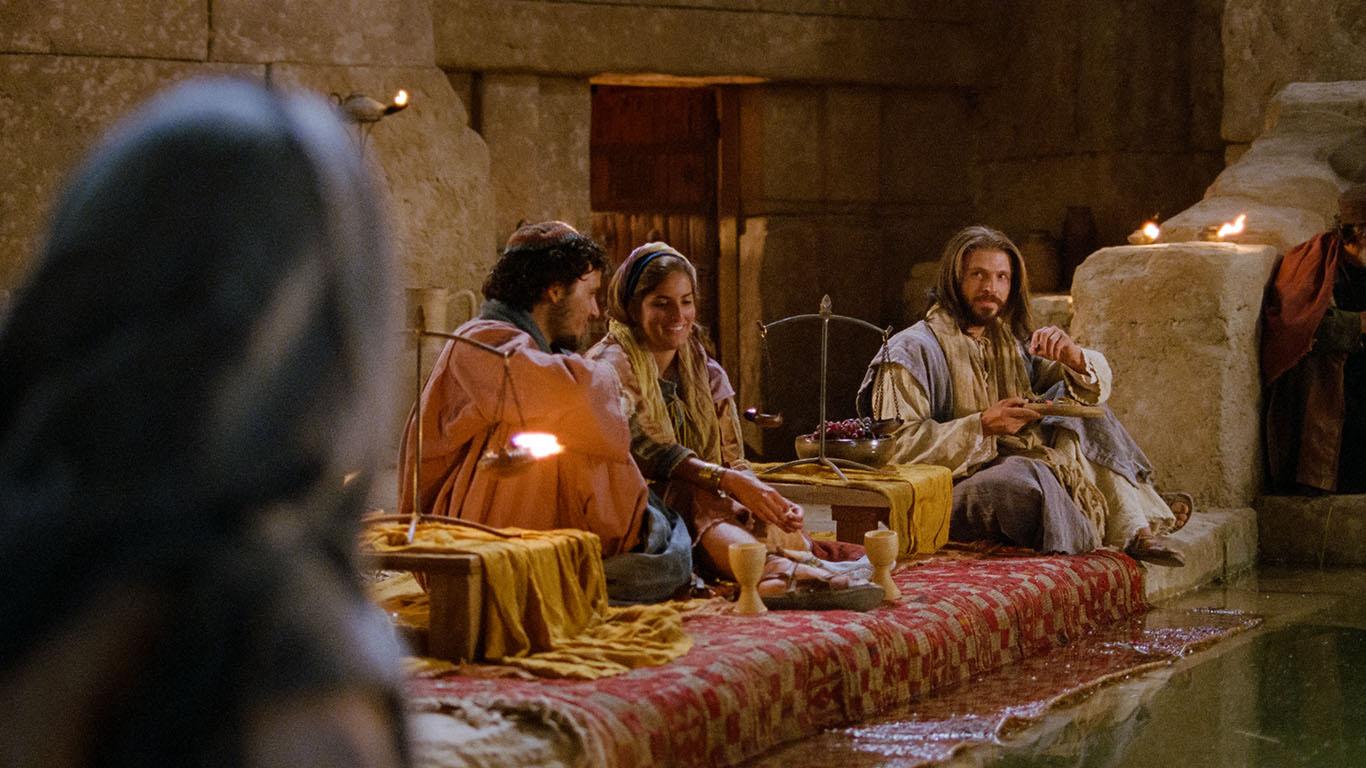 Jesús convertint aigua en vi | Church of Jesuschrist