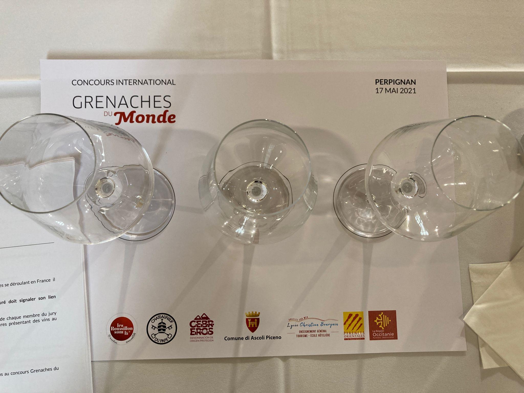 El concurs de les Garnatxes del Món, en la seva jornada de tast a Perpinyà  E.V.