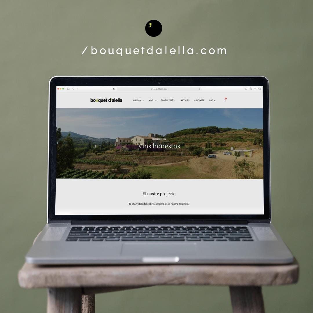 Bouquet d'Alella estrena pàgina web | Bouquet d'Alella
