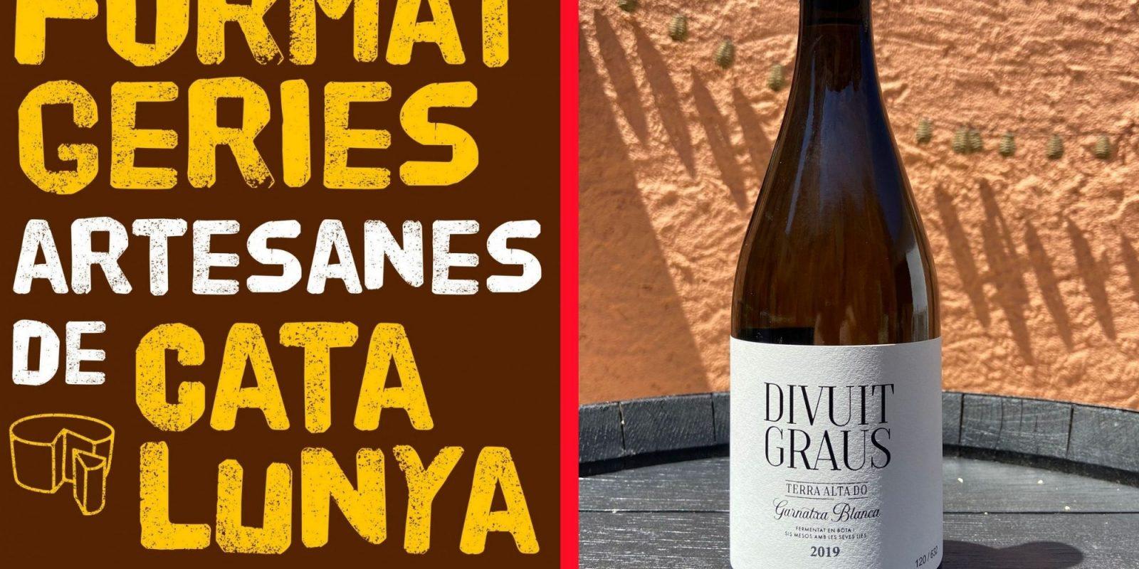 Sorteig d'umn llibre de vins i un vi blanc de la Terra Alta